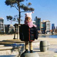 김채원 아기때사진